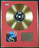 OZZY OSBOURNE - Ltd Edition CD 24 Carat Coated Gold Disc - BARK AT THE MOON