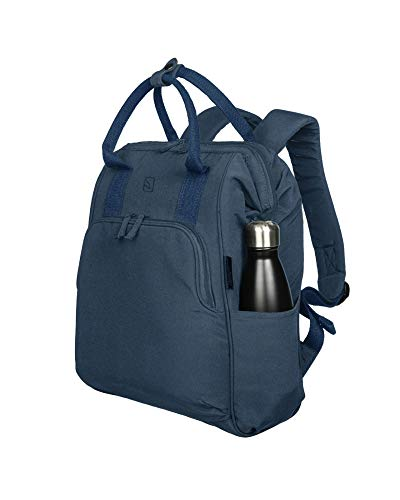 Tucano - Ampio Backpack PC e Laptop 14', Compatibile con MacBook PRO 13' e 15', Zaino Capiente da Ufficio e università, in Poliestere Riciclato