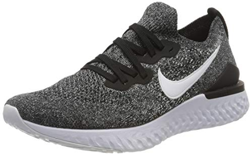 Nike Men's Epic React Flyknit 2 Trail Running Shoes, Multicolour (College Navy/College Navy/Black/White 401), 8 UK