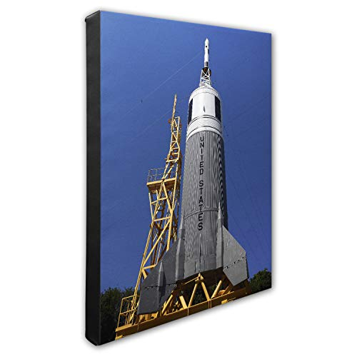"Photo File Johnson Space Center Canvas Photo Leinwandfoto, Integrierter Holzrahmen, Mehrfarbig, 16"" x 20\"""