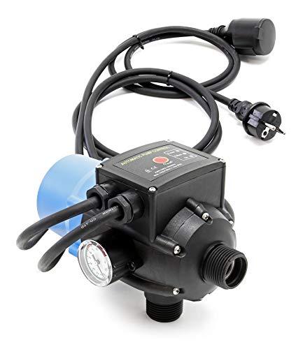 Druckschalter mit Kabel SKD-2D 230V 1-phasig Pumpensteuerung Druckwächter für Hauswasserwerk Brunnen