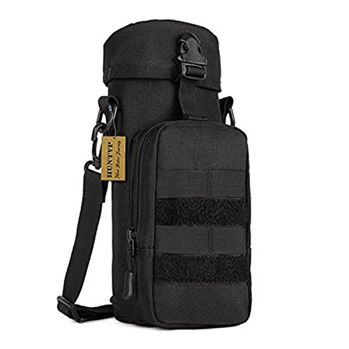 Huntvp Military Water Bottle Pouch Holder Tactical Kettle Gear Molle Pack Bag
