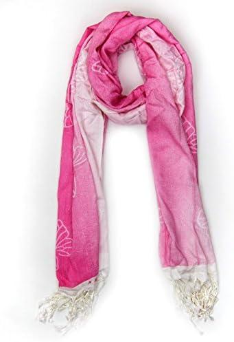 MANUMAR Schal f/ür Damen Mode-Schal Geschenkidee Frauen und M/ädchen Klassischer Damen-Schal Hals-Tuch in verschiedenen Farben mit Punkte Motiv als perfektes Herbst//Winter-Accessoire Stola