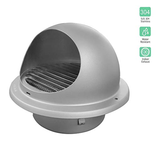 Why Should You Buy LXLTL Wall-Mountable Chimney Vent Cowl Cap Stainless Steel Rainproof Exterior Wal...