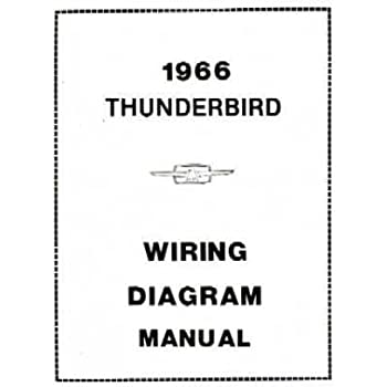 Amazon.com: 1966 FORD THUNDERBIRD Wiring Diagrams Schematics: Everything  ElseAmazon.com