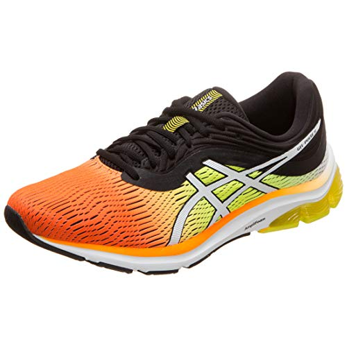 Asics Gel-Pulse 11, Zapatillas de Running Hombre, Naranja (Shocking Orange/Black 800), 43.5 EU