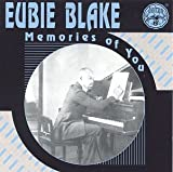 "album cover: Eubie Blake ""Memories of You"""