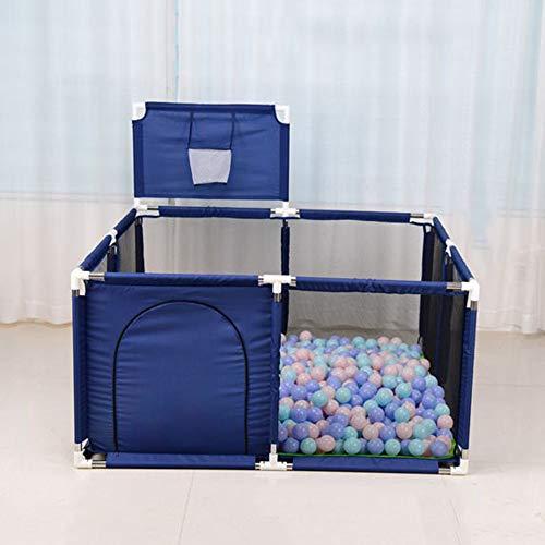 Lichtgewicht babybox met mat, draagbaar activiteitencentrum, veilige speeltuin,Mini verplaatsbaar hek met ademend gaas voor baby's peuter
