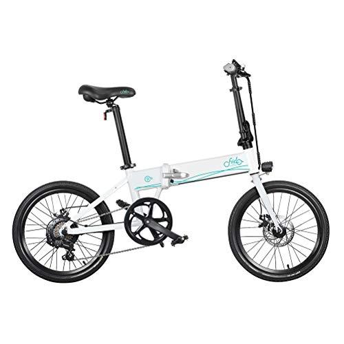 Ringnigt Bicicleta eléctrica FIIDO D4s, 10.4Ah 36V 250W Bicicleta Plegable de 20 Pulgadas La Bicicleta eléctrica de montaña Recargable más rápida Utilizada para Enviar mercancías Fuera del Trabajo