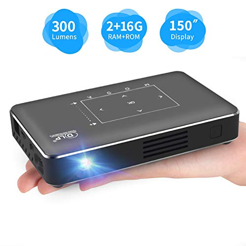 Portable Mini Projector, Haidiscool Pocket Video...