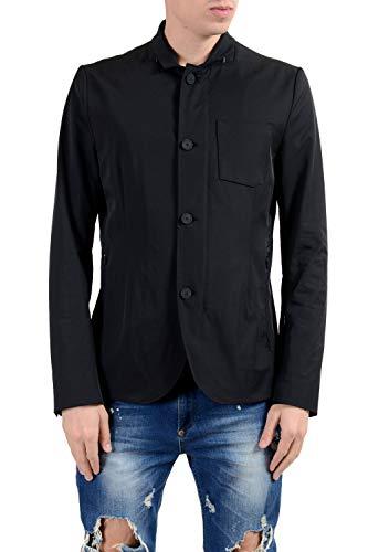 """Hugo Boss """"Ayvon_BS Men's Full Zip Black Water Repellent Jacket US M IT 50"""