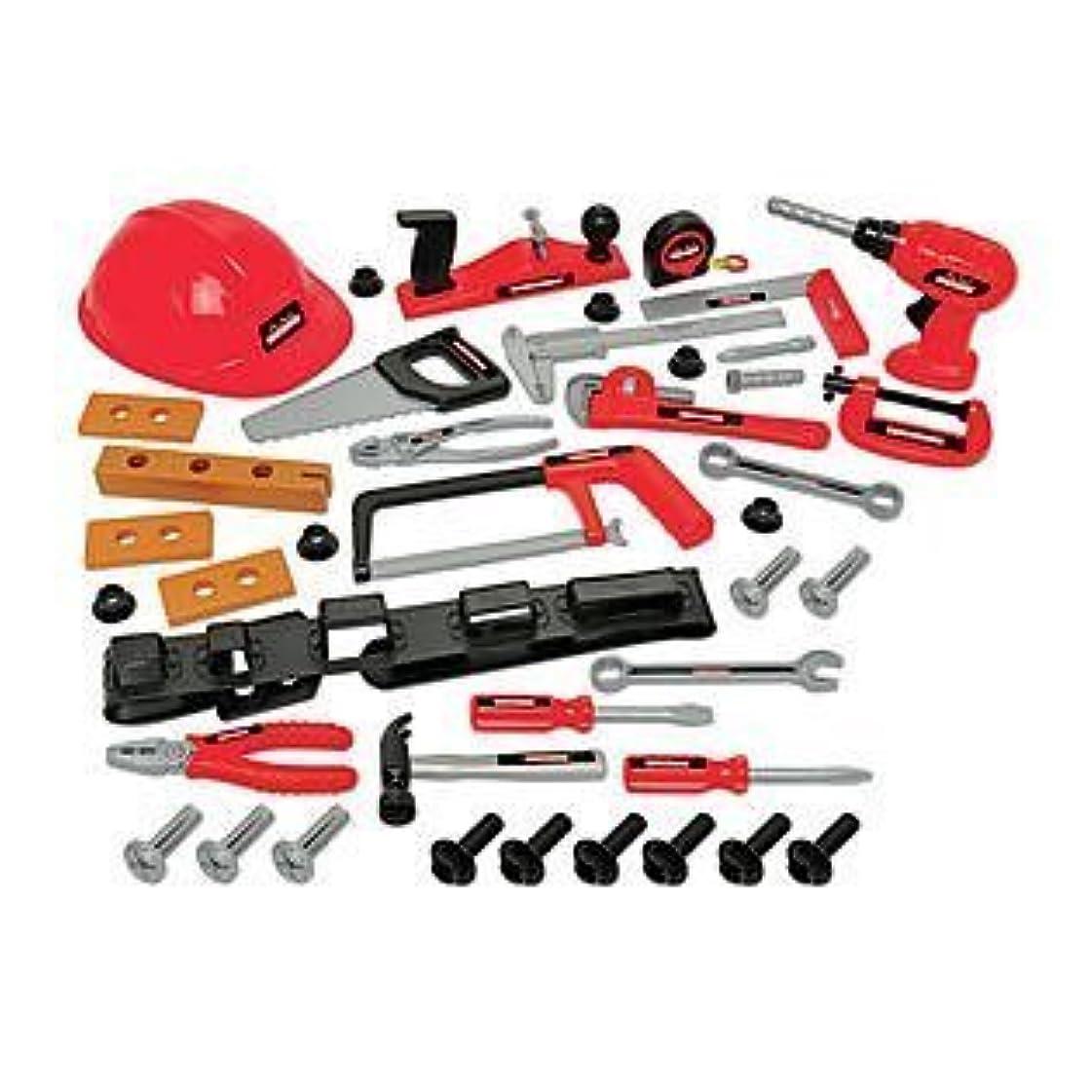 挑発するノイズ前にMy First Craftsman 44pcs Tool Set with Helmet [並行輸入品]