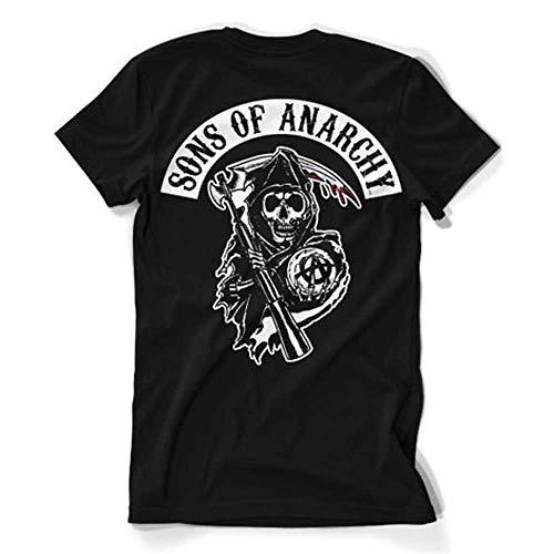 Sons of Anarchy Officiellement Marchandises sous Licence Redwood Original 3XL,4XL,5XL Hommes T-Shirt Noir