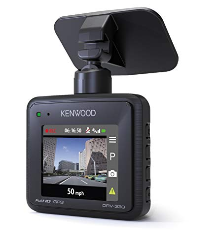 Kenwood DRV-330 Compact Full HD Dash Cam with GPS 2MP Black