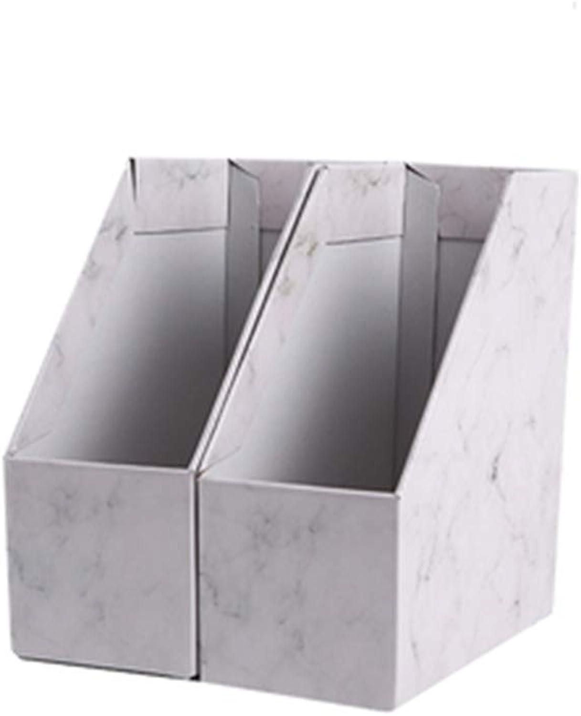 WJF Office Desk-Dateikorb Papierablagehalter Marmor Desktop Aufbewahrungsbox Büro Büro Büro Dokumentenregal Datenspeicherung Dateisortierung B07P2M96JB | Merkwürdige Form  379130