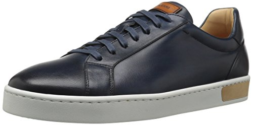 Magnanni Men's Caballero Fashion Sneaker, Navy, 7 M US