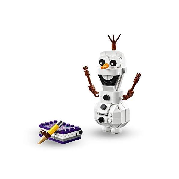LEGO-Frozen-Olaf-41169-Costruisci-il-Pupazzo-di-Neve-Olaf-per-Entrare-nelle-Magiche-Atmosfere-del-Film-Disney-Set-di-Costruzione-per-Bambini-6-Anni