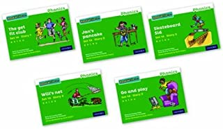 Read Write Inc. Phonics: Green Set 1A Storybooks Mixed Pack of 5