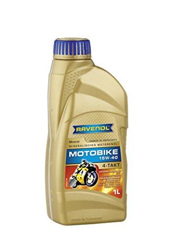 1 Liter SAE 15W-40 Motorrad Öl/ Ravenol Motobike 4-T Mineral - Made in Germany -