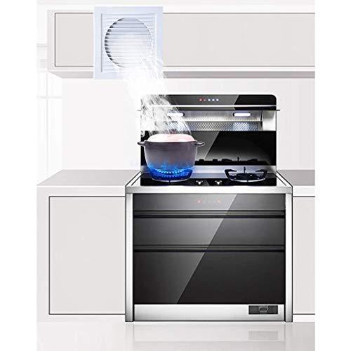 Extractor De Baño, Extractor de baño, ventilador, extractor de cocina, ventilador con persianas, tranquilo y potente para baño/cocina/sala de estar