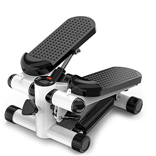 Photo of Auppy Fitness Exercise Machine Mini Stepper Stepping Legs with Resistance Bands, Legs Arm Thigh Exerciser Fitness Full Body Workout (Black)