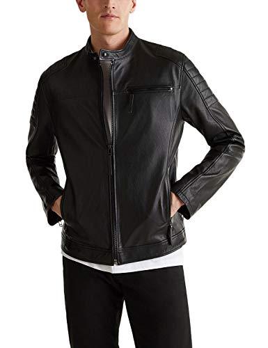 ESPRIT Biker-Jacke aus Leder