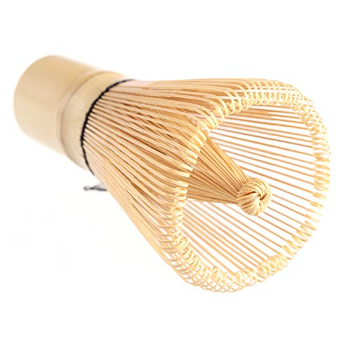 Batidor japones de bambu\Chasen\ para matcha con 120 varillas