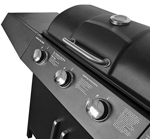 Broil-master Gasgrill BBQ GRILLWAGEN - 6