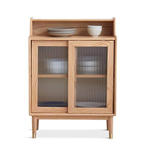 Feixunfan Aparador Aparador Moderno Minimalista Mueble de té Restaurante Armario Nordic Oak...