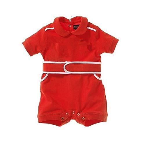 Hooyi Combinaison de Cyclisme à Manches Courtes pour bébé garçon Rouge 0-2 Ans - Rouge - 100 cm