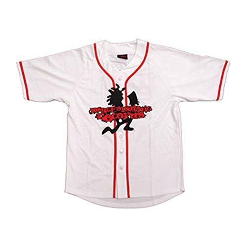 Insane Clown Posse Men's Pro Baseball Jersey Authentic Baseball Jersey Small White