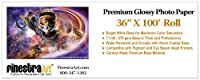 "36"" x 100'ロールプレミアム光沢インクジェット写真用紙[ Office Product ]"