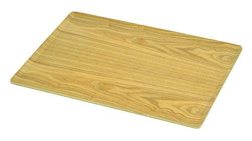 パール金属 トレー 角型 木製 46×34cm ノンスリップ加工 ナチュラル ブリック HB-3747