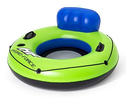 Bestway Hydro-Force Luxus Schwimmreifen mit Rückenlehne, 119 cm