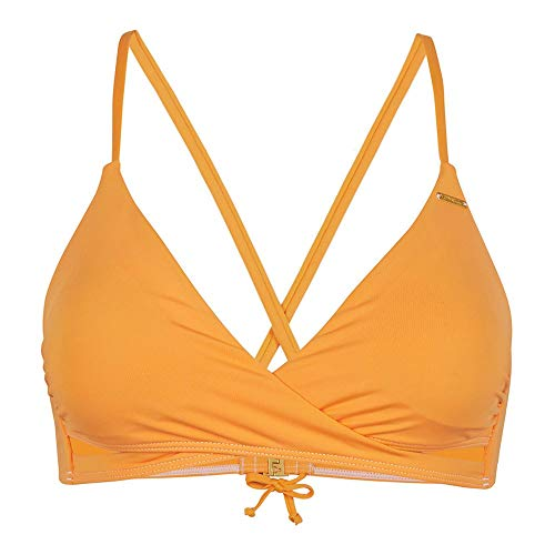 O'NEILL PW BAAY Top Bikini, 2536 Blazing Orange, Regular (Pack de 2) para Mujer