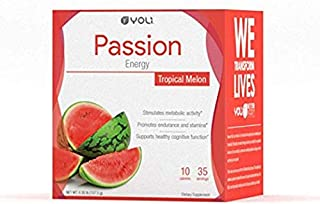 Yoli Passion Energy Tropical Melon Flavor Packets