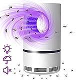 Lampe Anti Moustique, Moustique Tueur Lampe, 2021 Nouveau USB Tueur d'insectes Électrique, Piege a Moustique, Répulsif Tueur de Moustiques, Sûre, Non Toxique pour Intérieur et Extérieur (L)