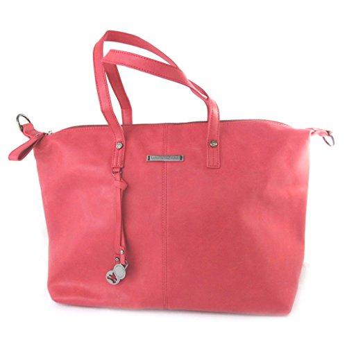 Lulu Castagnette [N5738] - 'french touch' beutel 'Lulu Castagnette' red vintage - 49x30x15.5 cm.