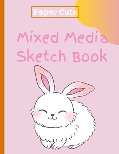 Sketchbook Mixed Media, sketchbook 8.5x11, 120 Pages, sketch book for kids blank paper for drawing, Marker Art, Colored Pencil, Charcoal for Sketching, Sketchbook Notebook