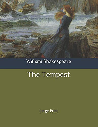 The Tempest: Large Print