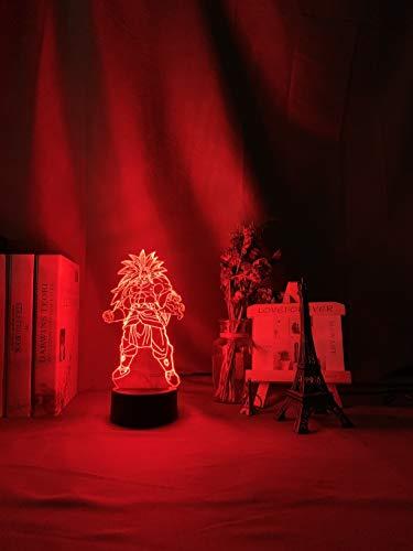 Fantasy Dragon Ball 3D luz de noche cargador USB decoración del hogar café fiesta juguete cumpleaños Navidad niños regalo