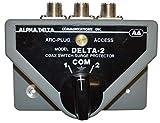 Alpha Delta Original DELTA-2 DELTA-2B 2-Position Coax Switch, SO-239, 2KW - 500MHz