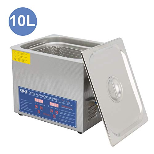 CO-Z Professional 10L Ultrasonic Cleaner with...