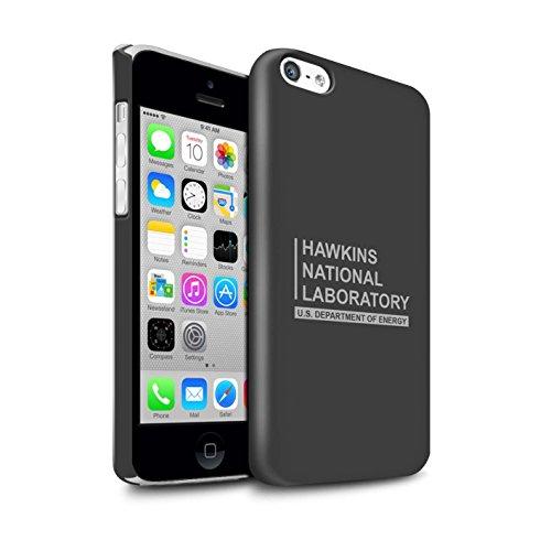 Stuff4 Duro Snap On beschermhoes/cover/behuizing/telefoon voor Apple iPhone 5C / grijs/laboratorium nazionale Hawkins design