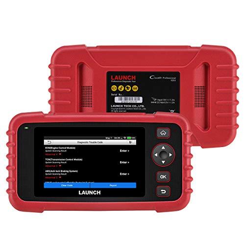 LAUNCH CRP123X Herramienta Diagnosis Profesional OBD con Detección AutoVIN para Sistemas Motor Transmisión ABS SRS Airbag con Actualizaciones por Wi-Fi Incorporada en Español (Nuevo 2021)