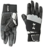 Best Football Lineman Gloves - Under Armour Combat - NFL Football Gloves, Black Review