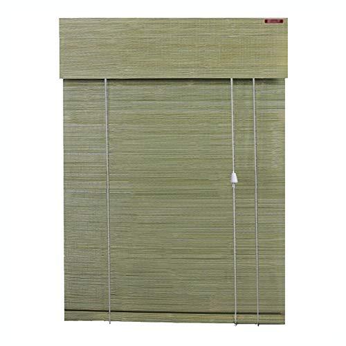 LIANGJUN bamboe gordijn rolgordijn rolgordijn Romeinse venster tinten weven opknoping glad Roll up halfschaduw stofdicht, op maat