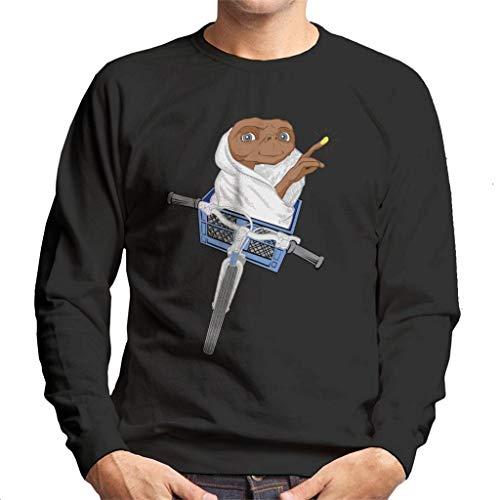 E.T. De Extra-Terrestrial Fietsmand Schets Heren Sweatshirt