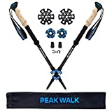 Best leki hiking pole - PEAK WALK Trekking Poles - 100% 3K Carbon Review