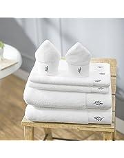 Swiss Republic Bath Towels Set- Rivera Collection 700 GSM Zero Twist